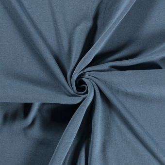 Sweatshirtstoff Bio recycelt Blau