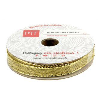 Spule Band gold 7 mm