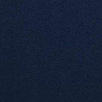 Maille coton unie marine