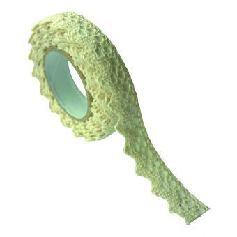 Masking Tape Spitzen Baumwolle 17x2,5m ecru