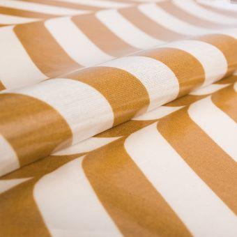 Beschichteter Stoff Glänzend Senfgelb - AU Maison
