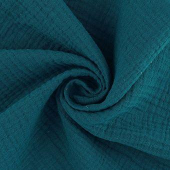 Musselin Blaugrün