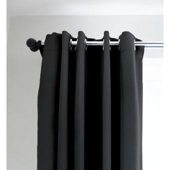 Vorhang Drome Anti-Staub Grau