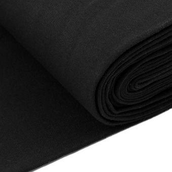 Jerseystoff Schlauchware Schwarz