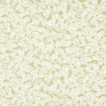Outdoorstoff, wasserabweisend Blattmotiv grün