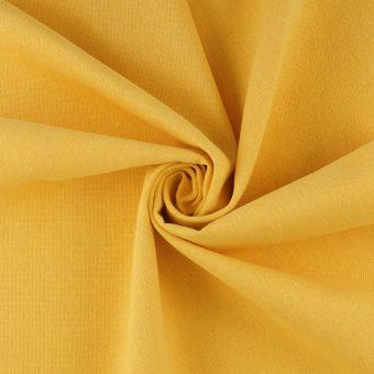 Baumwollstoff recycelt Gelb