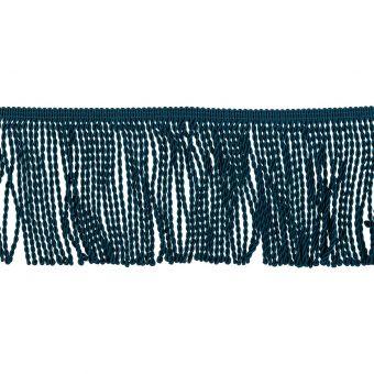 Fransenbänder Torse Petrol-Blau 10cm