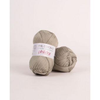 Strickgarn Phildar Coton 3 linde