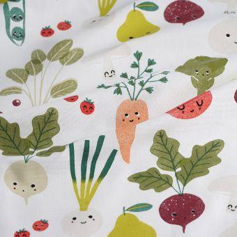 Dicker Baumwollstoff Gemüse