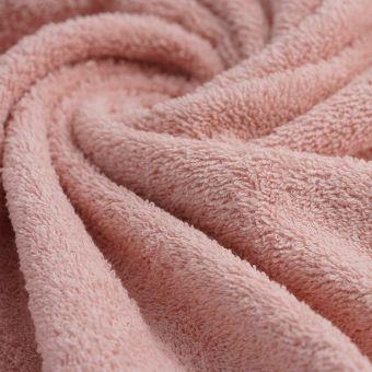 Frotteestoff Bio Baumwolle rosa