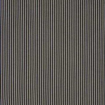 Popeline Baumwolle Streifen schwarz