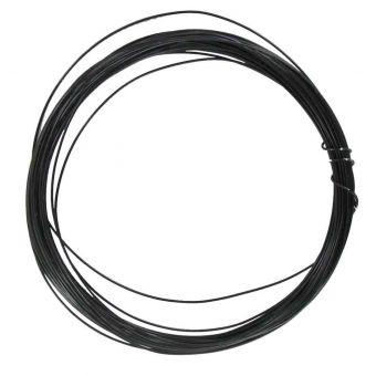 Schmuckdraht zum Häkeln Durchmesser 0,4 mm x 10 m schwarz