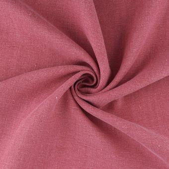 Leinenstoff Hemd ausgewaschen rosa