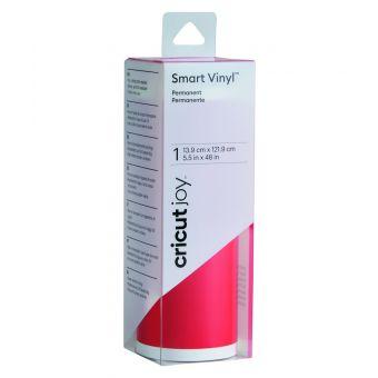 Cricut Joy Smart Vinyl Pemanent Rot Glänzend  13,9 x 121,9 cm