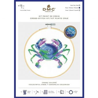 Kreuzstich-Stick Set DMC Krabbe