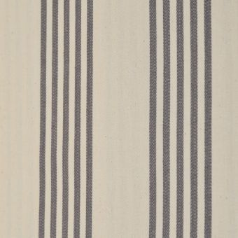 Baumwollstoff mit doppelter Acrylbeschichtung Cabana grau gestreift
