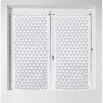 Paar Gardinen Epiniac weiß