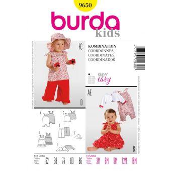 Schnittmuster Burda 9650 kids Sets