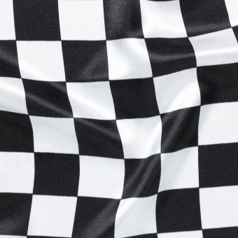 Gewebe in Rallyeflaggen-Schachbrettmuster