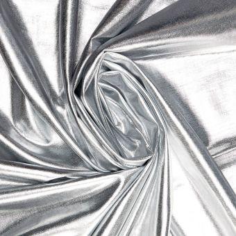 Elastischer Stoff in Metall-Optik
