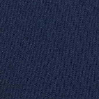 Baumwoll-Sweatshirtstoff, einfarbig marineblau