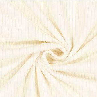 Cord Nicki recycelt Weiß - Albstoffe