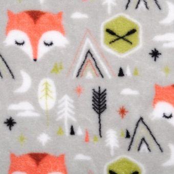 Fleece Fuchs Orange
