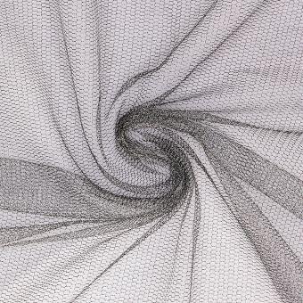 Netz Lurex silber