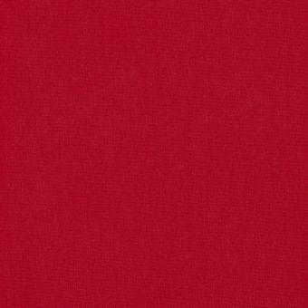 Maille coton unie rouge