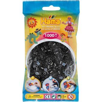 1.000 Standard-Midi-Perlen (Durchmesser 5 mm) schwarz