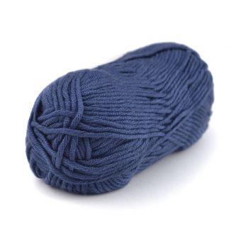 Strickgarn Plassard Songe Marineblau