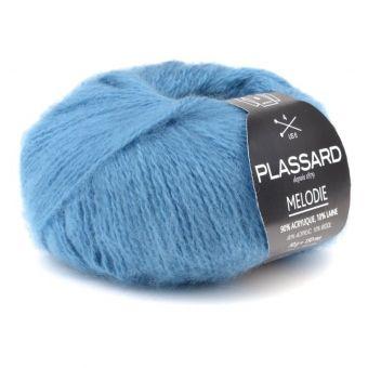 Wolle Plassard Mélodie Blau