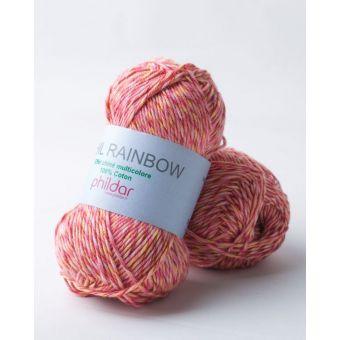 Strickstoff Phildar Rainbow Pfingstrose