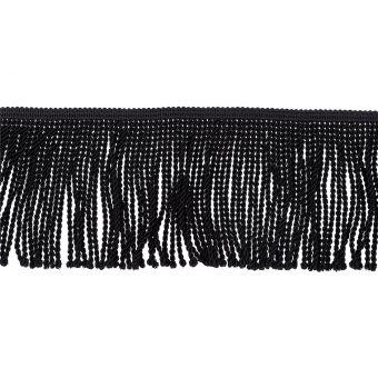 Fransenbänder Torse Schwarz 10cm
