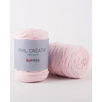 Strickgarn Phildar Creativ rosa