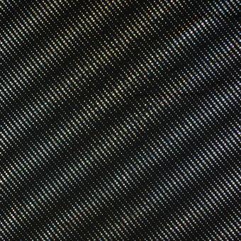 Jerseystoff Streifen silberfarben