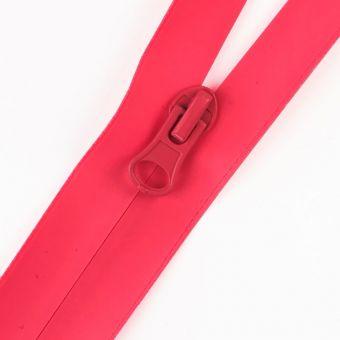 Wasserdichter Reißverschluss als Meterware fluo rosa