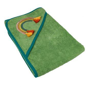 Badeumhang Savane grün