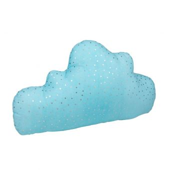 Kissen Wolke blau