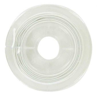 Elastischer garn 1mm x 5m weiß
