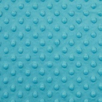 Polarfleece Minky, türkisblau