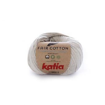 Wolle Bio Katia Fair Cotton Perlgrau