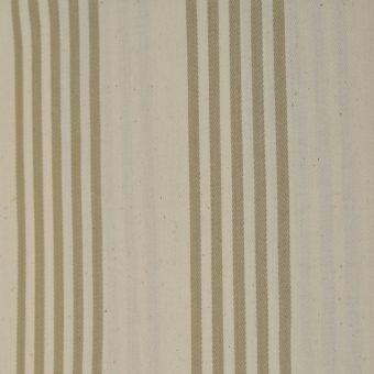 Baumwollstoff mit doppelter Acrylbeschichtung Cabana beige gestreift