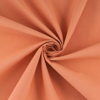 Popeline Baumwolle einfarbig Orange