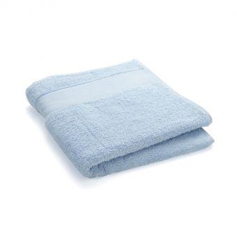 Handtuch zum Besticken, 50x100 cm - Himmelblau