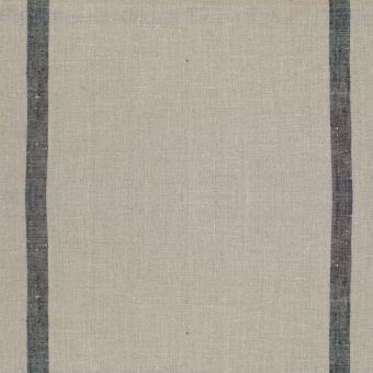 Geschirrtuchstoff 100% Baumwolle mit Streifen grau
