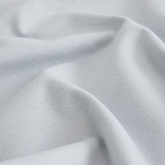 Flanellstoff Bio Baumwolle grau