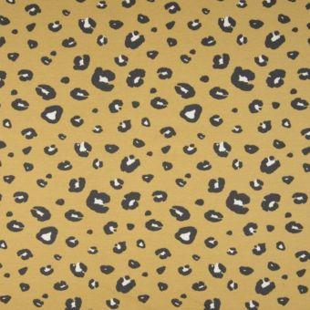 Sweatshirtstoff French Terry Bio Baumwolle Gelb
