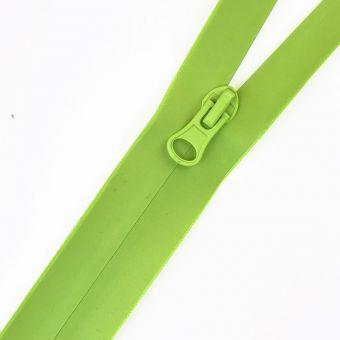 Wasserdichter Reißverschluss als Meterware fluo grün