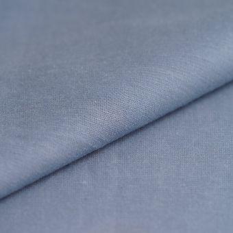 Chambray Baumwolle Blau